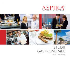 Studij Gastronomije Brošura u PDF
